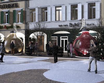 Projekt: die kugl_Eiscafè Baci
