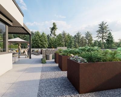 Projekt: Privatvilla Außenbereich