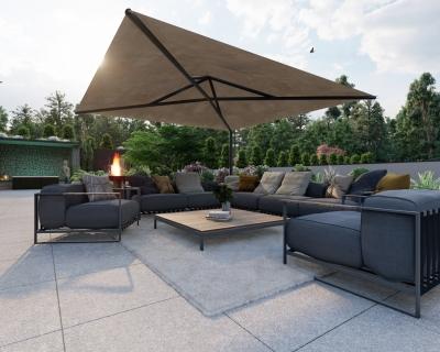Projekt: Villa Außenbereich